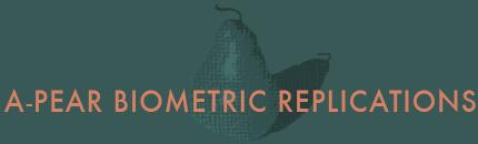 A-Pear Biometric Replications